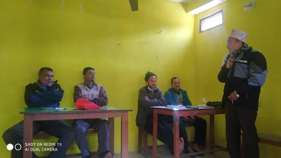 नेकपाले (प्रचण्ड नेपाल समूह) २१ गते बनगाड कुपिण्डेमा आमसभा गर्ने