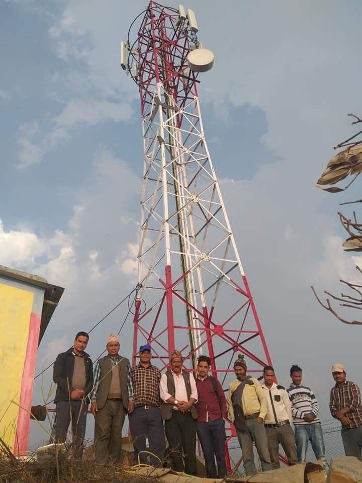 अवरुद्ध भएको एक महिनापछि सञ्चालनमा आयो झिम्पे रिपिटर टावर